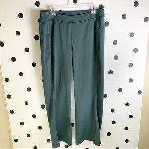 MAKE OFFER ATHLETA PANTS GREEN/GREY